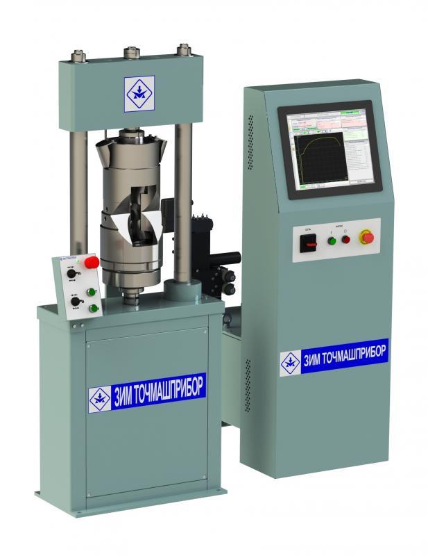 <p>Испытательная машина предназначена для испытаний образцов материалов (изделий) твердостью до 42 HRC на растяжение при статических режимах одноосного нагружения и нормальной температуре согласно стандартизованным методам испытаний материалов (изделий) по российским и зарубежным стандартам.</p> <p>Машина оснащена компьютеризированной системой управления и измерения, обеспечивающей автоматическое управление процессом испытания, автоматическую обработку результатов испытания и печать результатов в форме протокола и диаграммы.</p>