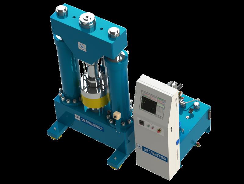 <p>Испытательная машина РМ–160УМ1 предназначена для статических испытаний болтов на растяжение в соответствии ГОСТ Р ИСО 898–1–2011, а также для статических испытаний на осевое растяжение и осевое сжатие гаек в соответствии ИСО 7500–1 и ИСО 6892–1.</p>